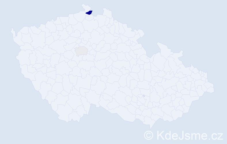 Příjmení: 'Altschach', počet výskytů 3 v celé ČR