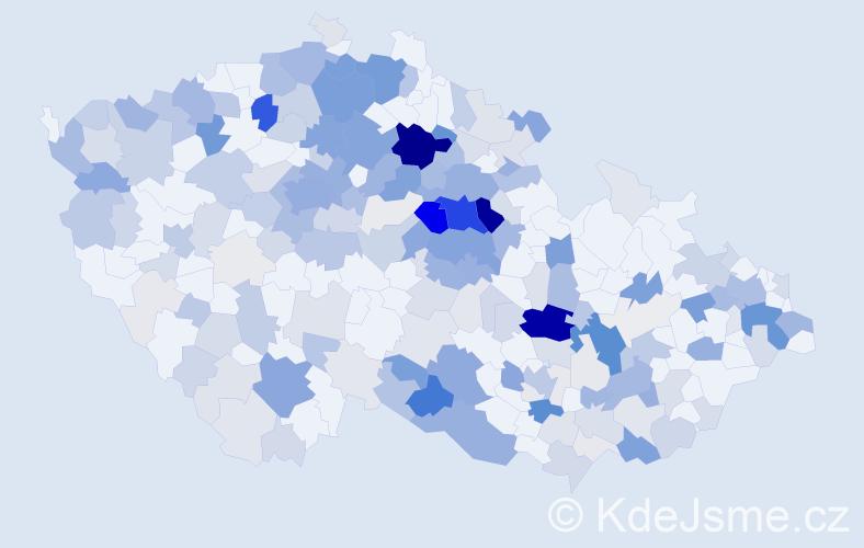 Příjmení: 'Hrdá', počet výskytů 843 v celé ČR