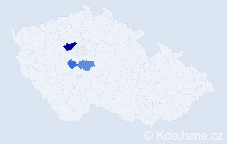 Příjmení: 'Fairaizl', počet výskytů 12 v celé ČR
