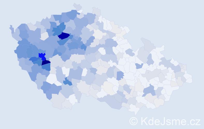 Příjmení: 'Horová', počet výskytů 1919 v celé ČR