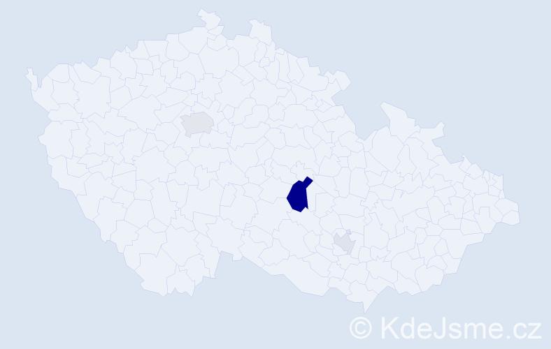 Příjmení: 'Čirková', počet výskytů 8 v celé ČR