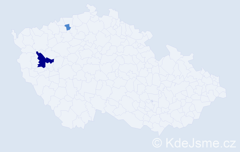 Příjmení: 'Ellschläger', počet výskytů 6 v celé ČR