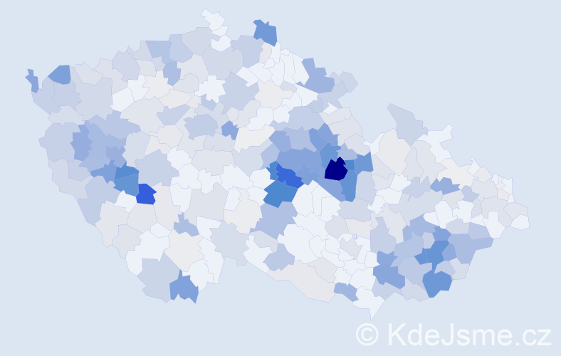 Příjmení: 'Karlík', počet výskytů 1144 v celé ČR
