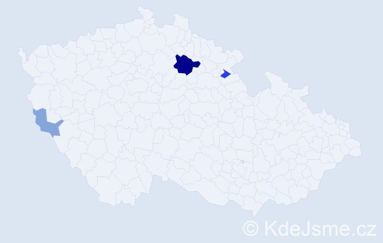 Příjmení: 'Andrenko', počet výskytů 7 v celé ČR