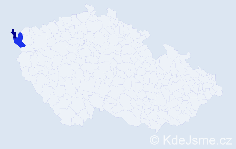 Příjmení: 'Lanzdorf', počet výskytů 3 v celé ČR