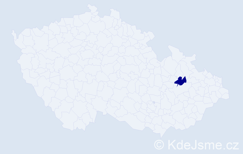Příjmení: 'Adzivor', počet výskytů 3 v celé ČR
