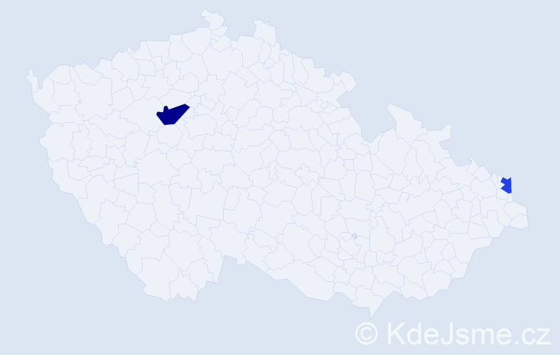 Příjmení: 'Krascsenits', počet výskytů 3 v celé ČR