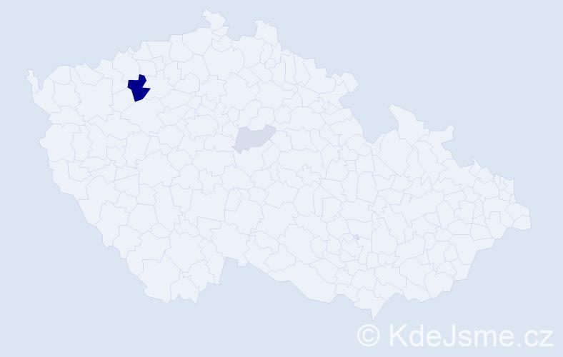 Příjmení: 'Legutko', počet výskytů 8 v celé ČR