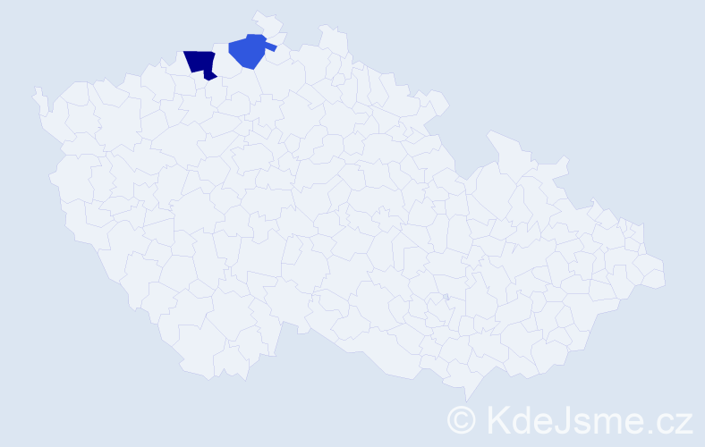 Příjmení: 'Abtrachimová', počet výskytů 6 v celé ČR