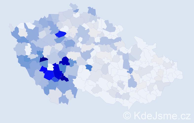 Příjmení: 'Bečvářová', počet výskytů 1002 v celé ČR