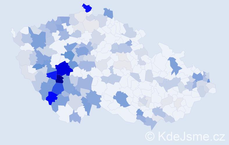 Příjmení: 'Hlinková', počet výskytů 534 v celé ČR