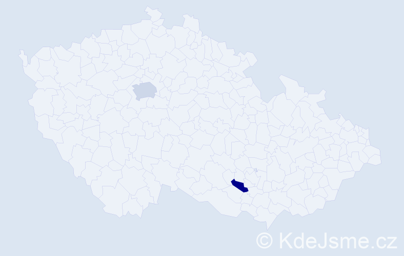 Příjmení: 'Davtyan', počet výskytů 6 v celé ČR