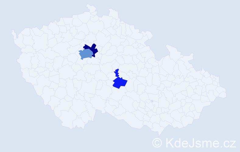 Příjmení: 'Körbler', počet výskytů 10 v celé ČR