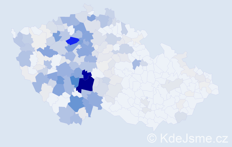 Příjmení: 'Hořejší', počet výskytů 1679 v celé ČR