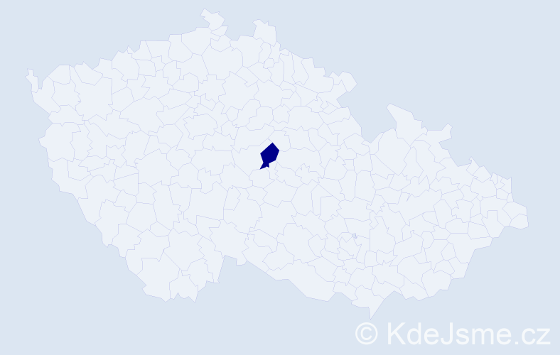 Příjmení: 'Abuklam', počet výskytů 2 v celé ČR