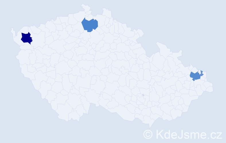 Příjmení: 'Igari', počet výskytů 12 v celé ČR