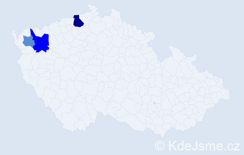 Příjmení: 'Jancsovics', počet výskytů 12 v celé ČR