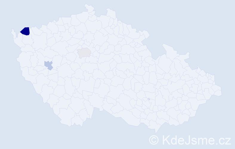 Příjmení: 'Čeporánová', počet výskytů 3 v celé ČR