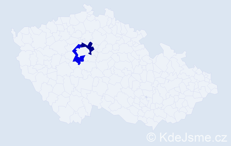 Příjmení: 'Batey', počet výskytů 2 v celé ČR