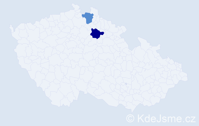 Příjmení: 'Arteňuk', počet výskytů 4 v celé ČR