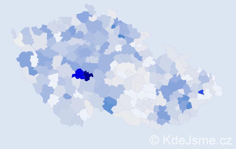 Příjmení: 'Křížková', počet výskytů 2183 v celé ČR