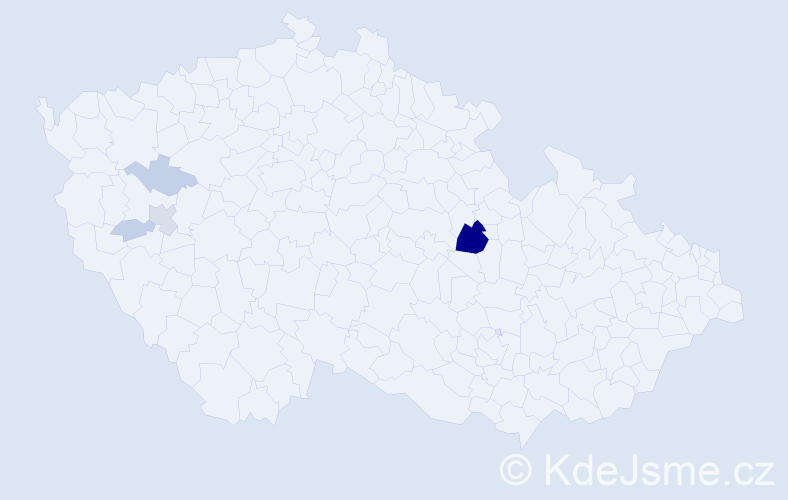 Příjmení: 'Glänzner', počet výskytů 18 v celé ČR