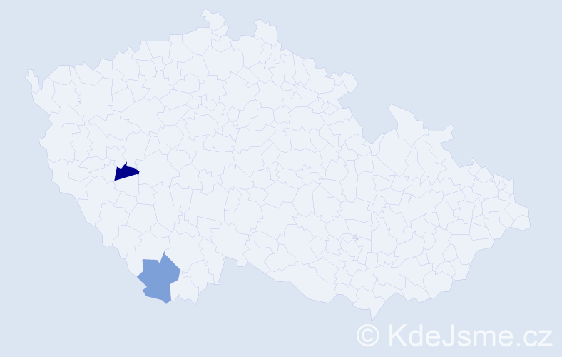 Příjmení: 'Golinowský', počet výskytů 4 v celé ČR
