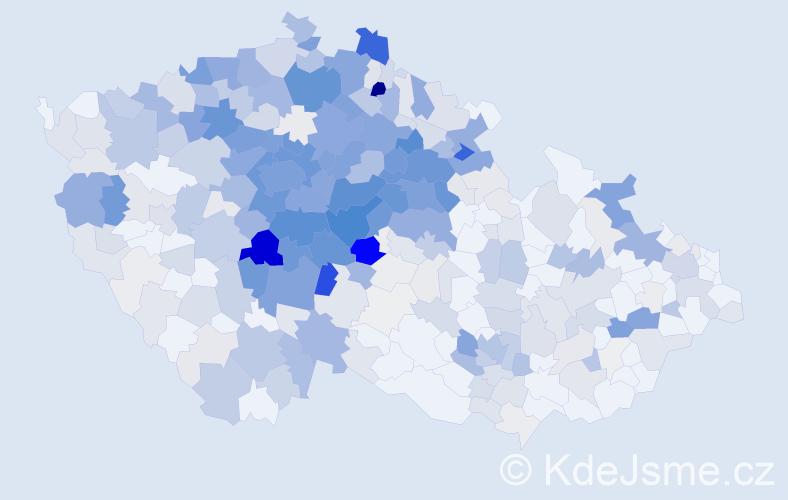 Příjmení: 'Barešová', počet výskytů 1674 v celé ČR