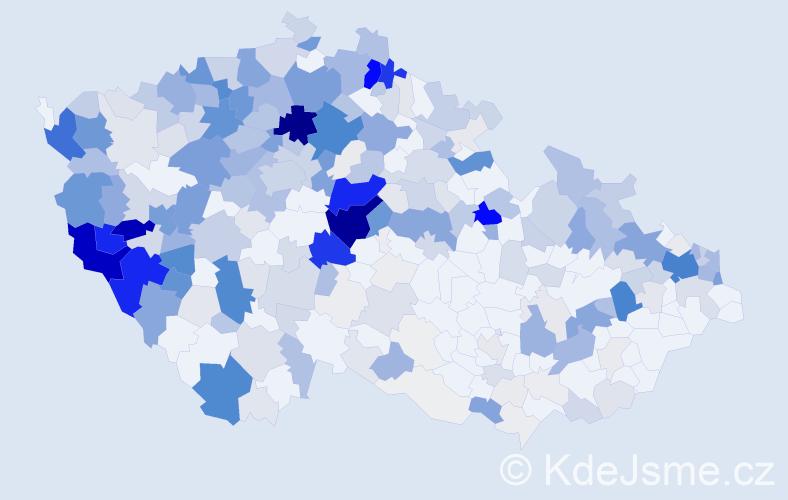 Příjmení: 'Červeňák', počet výskytů 1935 v celé ČR