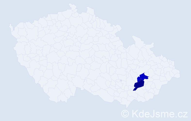 Příjmení: 'Czipszerová', počet výskytů 2 v celé ČR
