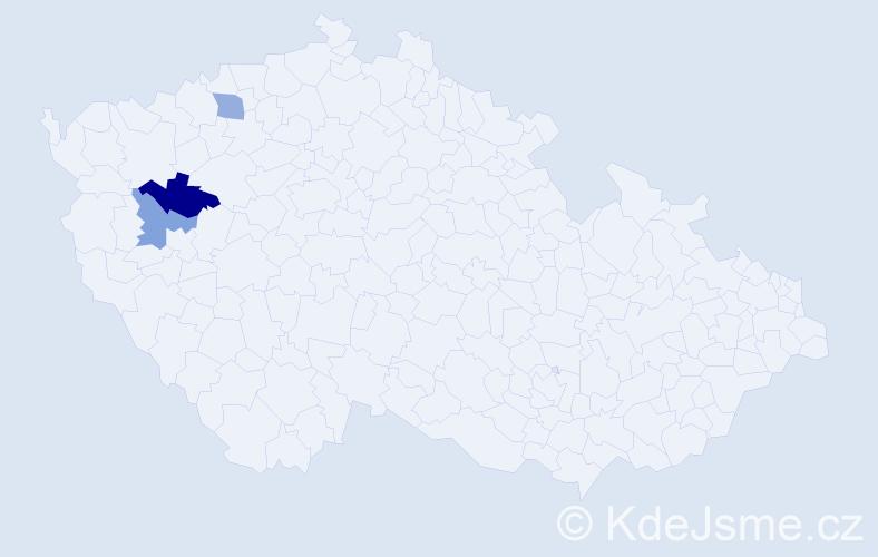 Příjmení: 'Ingrisch', počet výskytů 11 v celé ČR