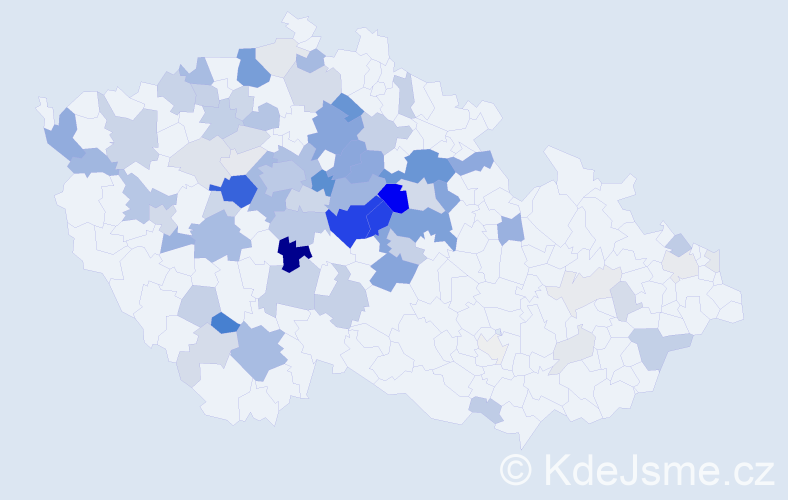 Příjmení: 'Černovský', počet výskytů 278 v celé ČR