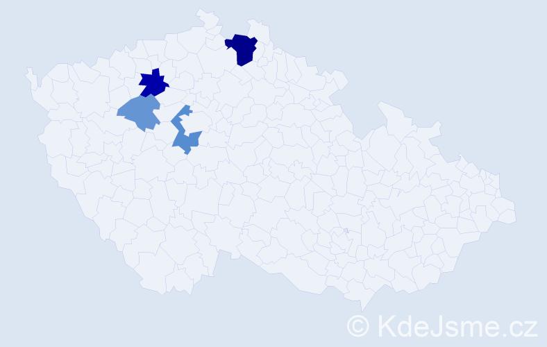 Příjmení: 'Gänsel', počet výskytů 10 v celé ČR