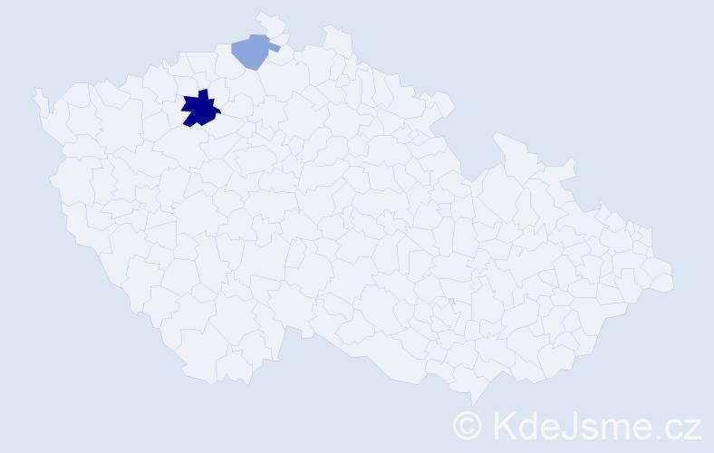 Příjmení: 'Canini', počet výskytů 15 v celé ČR
