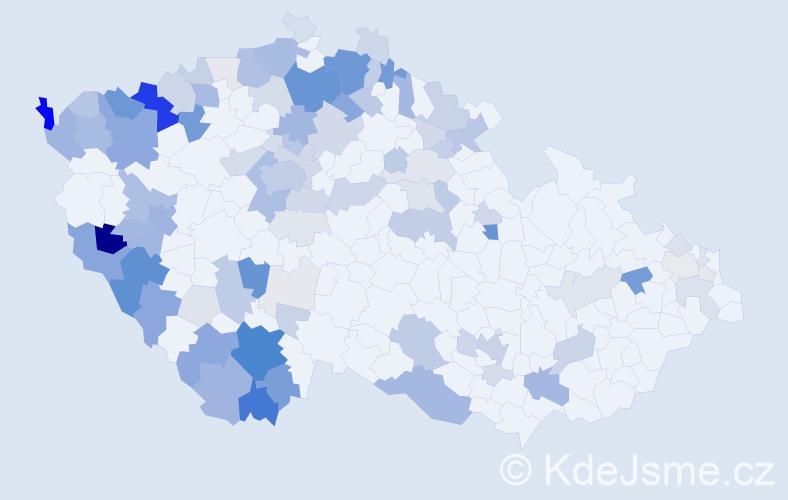 Příjmení: 'Glaser', počet výskytů 374 v celé ČR