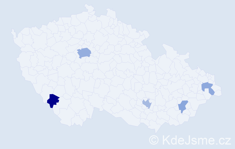 Příjmení: 'Gorgoňová', počet výskytů 12 v celé ČR