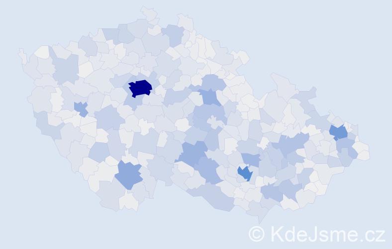 Příjmení: 'Němcová', počet výskytů 11529 v celé ČR