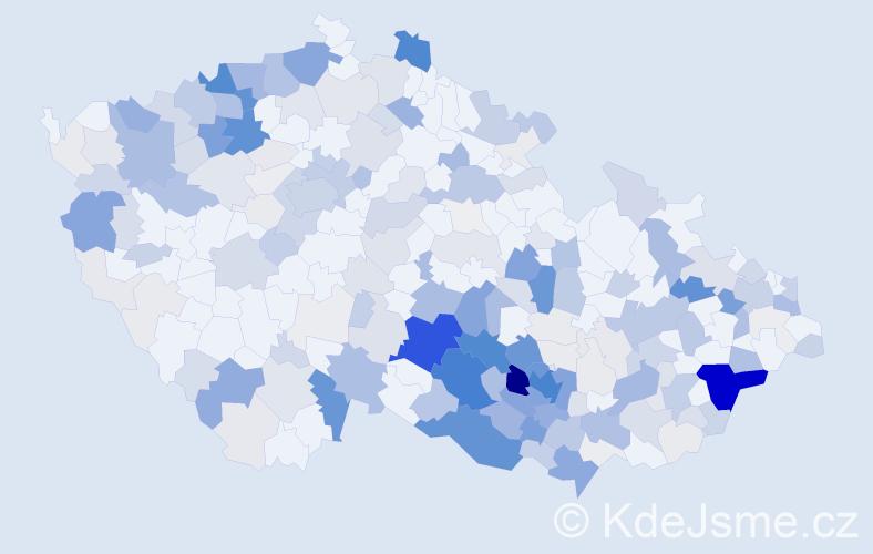 Příjmení: 'Filová', počet výskytů 994 v celé ČR