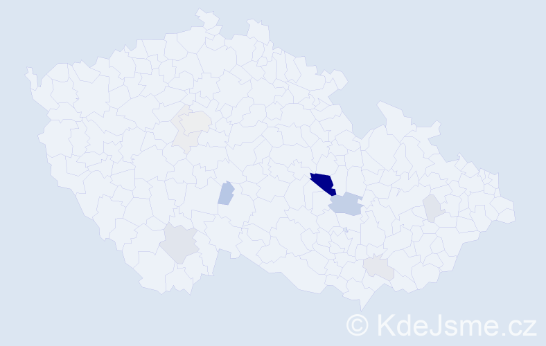 Příjmení: 'Grubhofferová', počet výskytů 31 v celé ČR