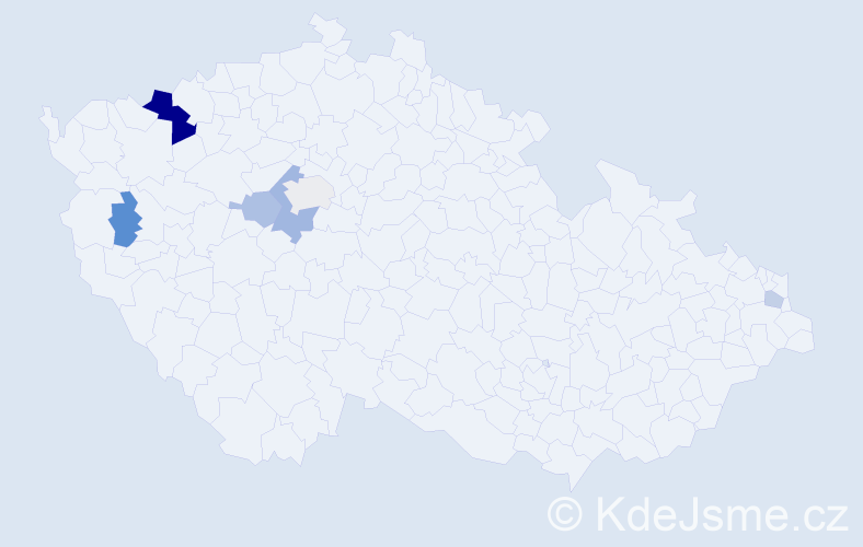 Příjmení: 'Gadušová', počet výskytů 12 v celé ČR