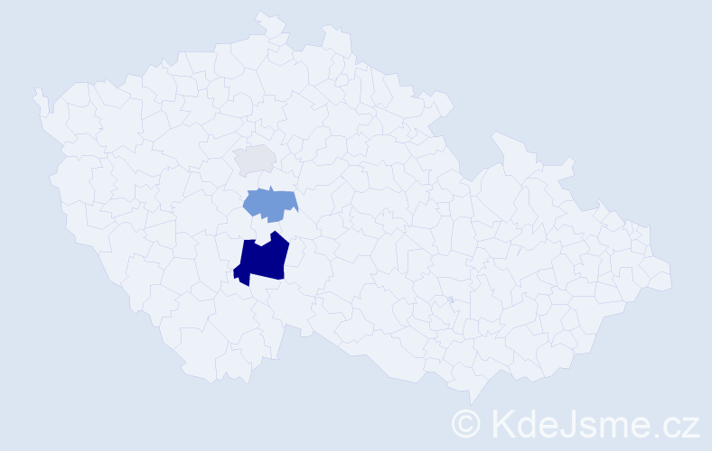 Příjmení: 'Eybert', počet výskytů 6 v celé ČR