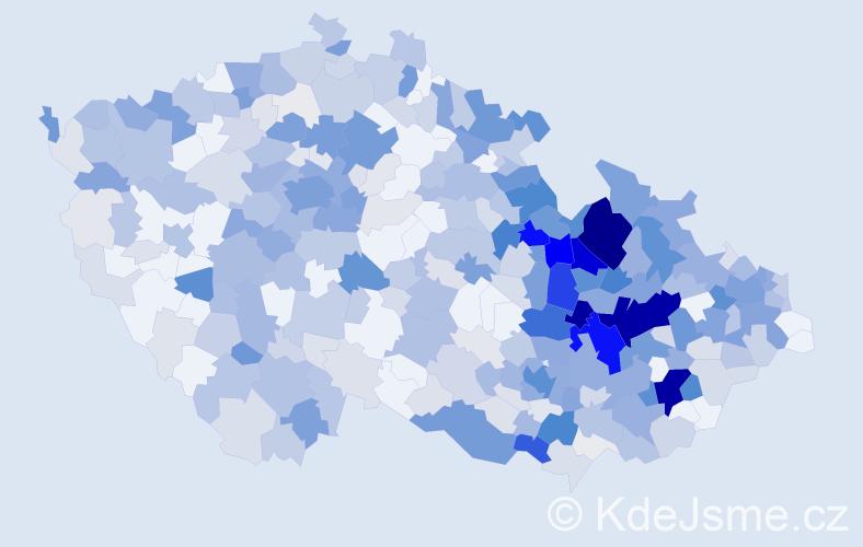 Příjmení: 'Langerová', počet výskytů 1847 v celé ČR
