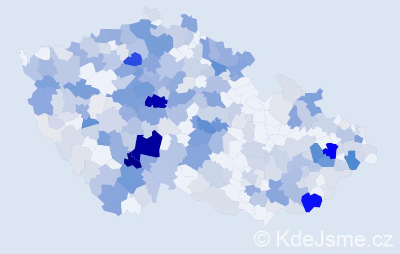Příjmení: 'Janovský', počet výskytů 1464 v celé ČR