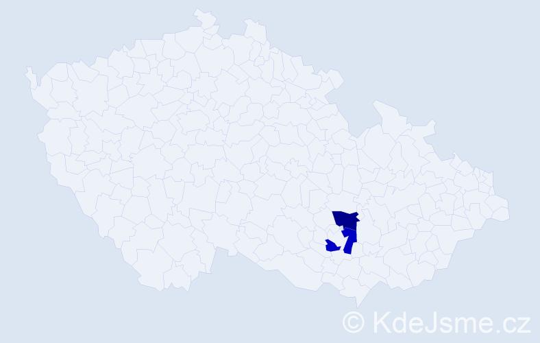 Příjmení: 'Gromszký', počet výskytů 2 v celé ČR