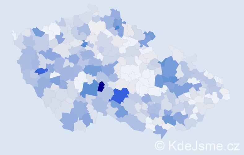 Příjmení: 'Berka', počet výskytů 1996 v celé ČR