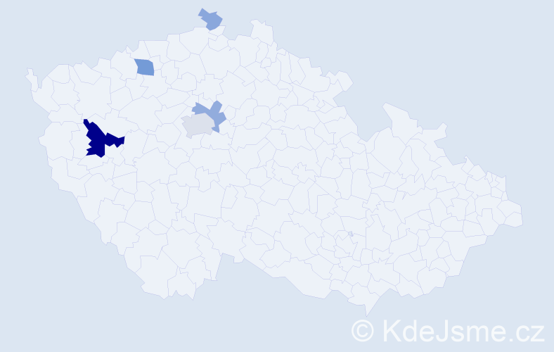 Příjmení: 'Fleissner', počet výskytů 17 v celé ČR