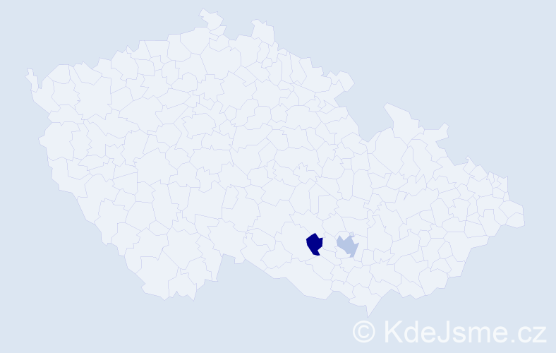 Příjmení: 'Hammacher', počet výskytů 3 v celé ČR