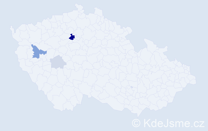 Příjmení: 'Drgo', počet výskytů 11 v celé ČR