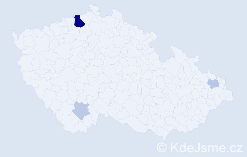 Příjmení: 'Grupáč', počet výskytů 11 v celé ČR