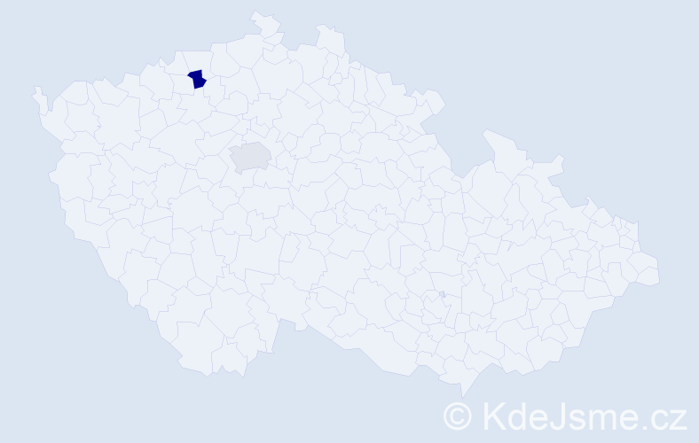 Příjmení: 'Čolić', počet výskytů 2 v celé ČR
